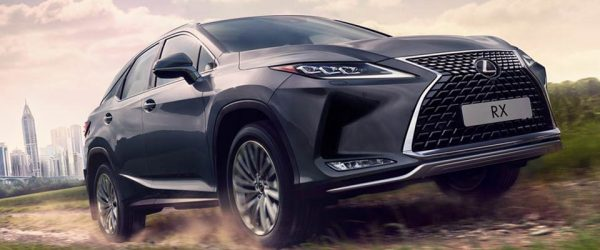 Успейте купить новый кроссовер Lexus RX по акции со скидкой